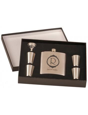 Flask Set with Presentation Box