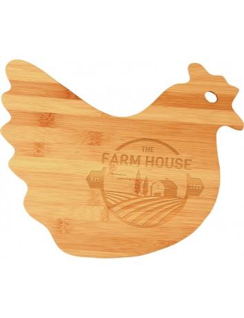 Chicken Shaped Cutting Board