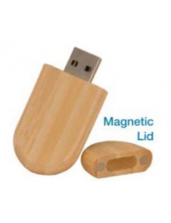 USB Bamboo Flash Drive 8GB
