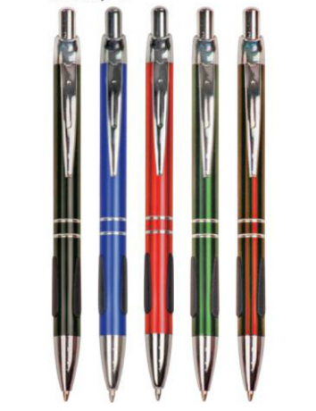 Gloss Ballpoint Pen with Grip