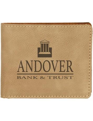 Leatherette Bifold Wallet