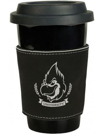Leatherette Mug Sleeve