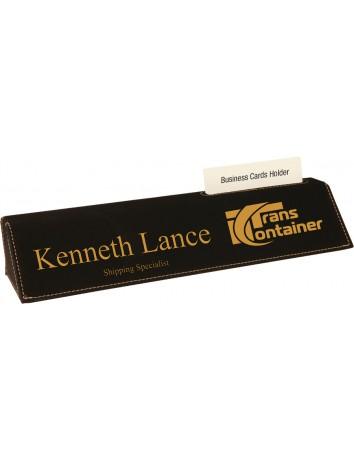 Leatherette Desk Wedge