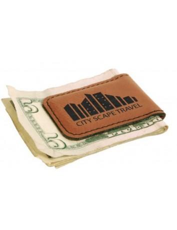 Leatherette Money Clip Small