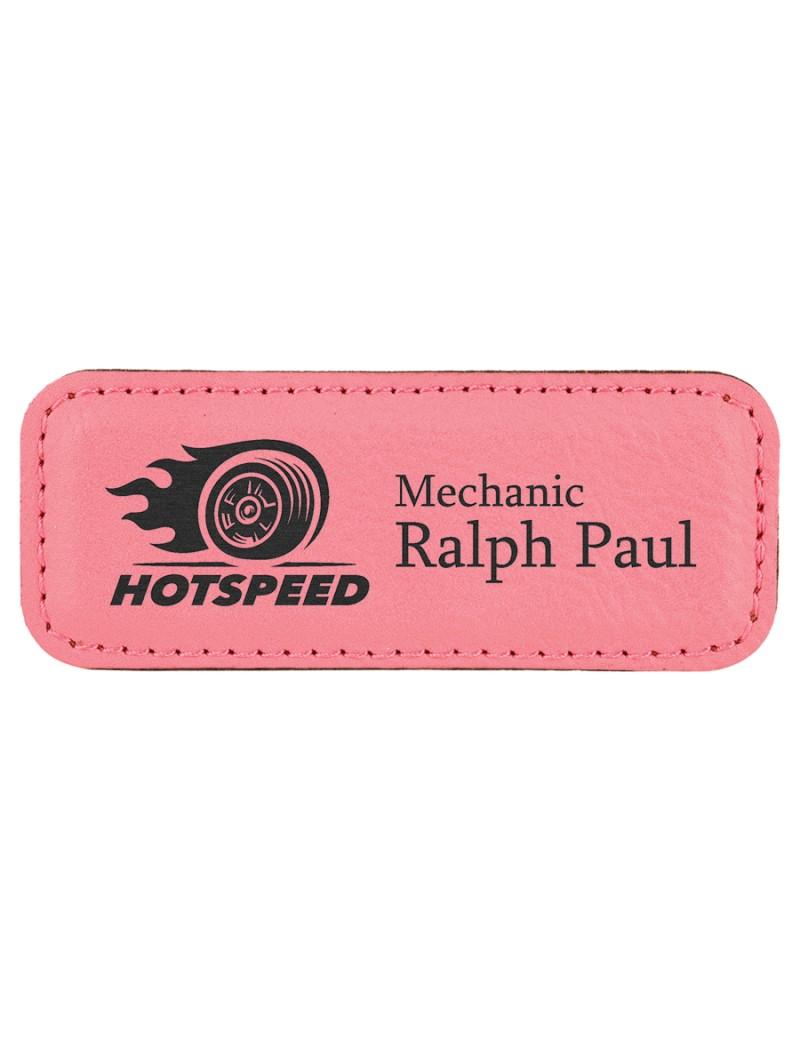 Leatherette Name Tags