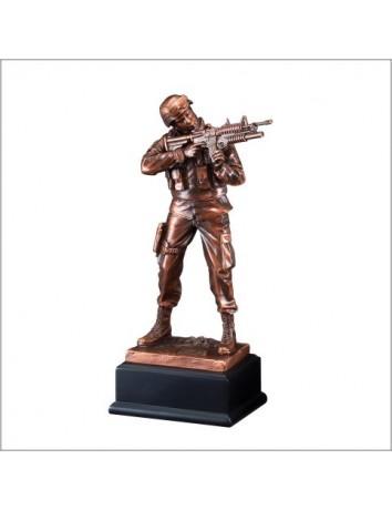 American Hero Army Resin