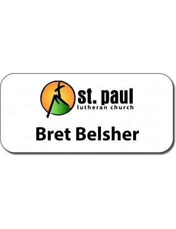 St. Paul Lutheran Church Nametag