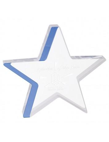 Color Edge Star Acrylic