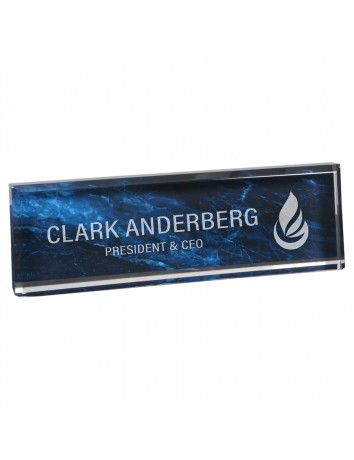 Marble Acrylic Desk Wedge