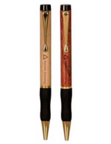 Wooden Ballpoint Pen with Gripper