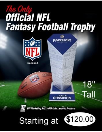 NFL Fantasy Football Trophy