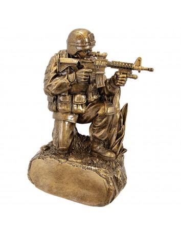 Military Resin w/ Rifle