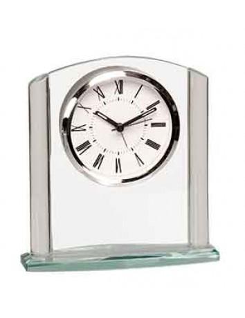 Glass Column Arch Clock