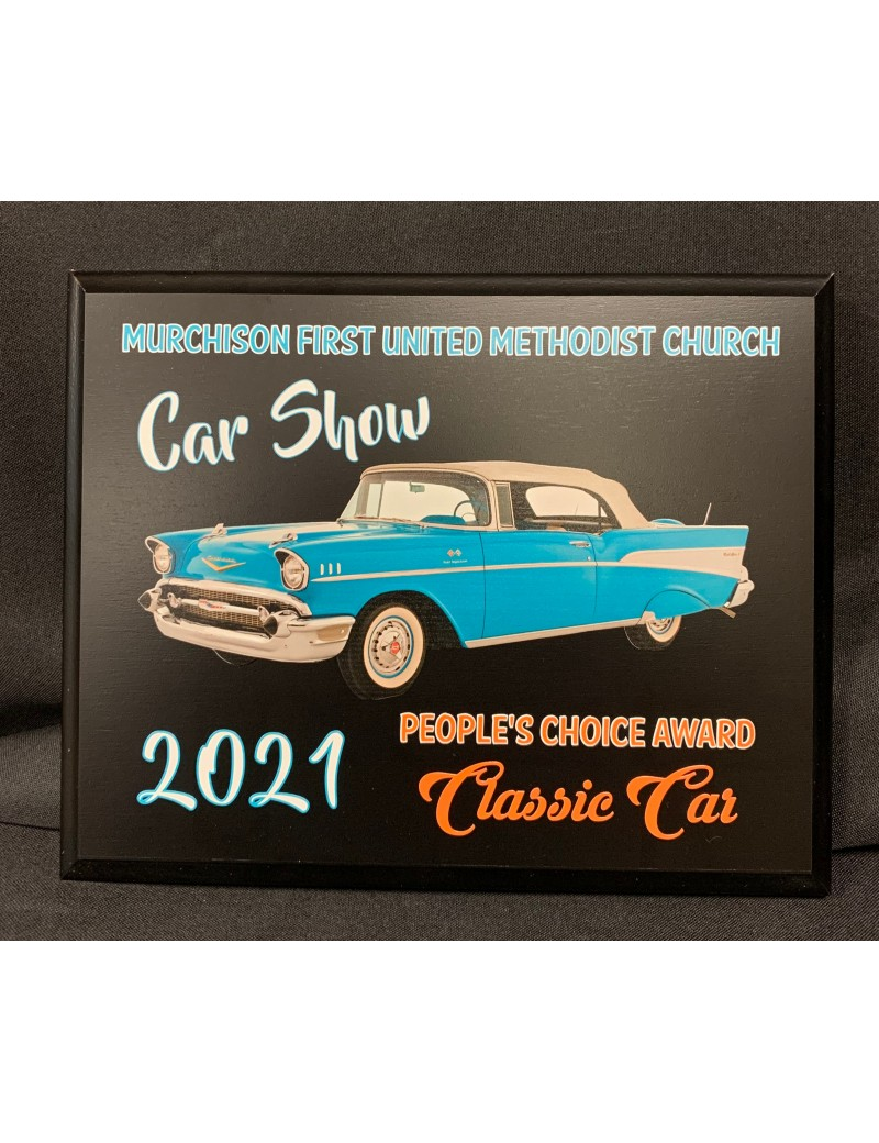 Economy Plaque with Direct Color Print